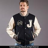 Scramble Jiu Jitsu Letterman Jacket